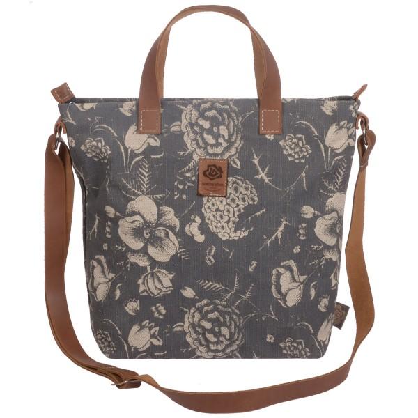 Tasche Blossom grau Dorothee lehnen