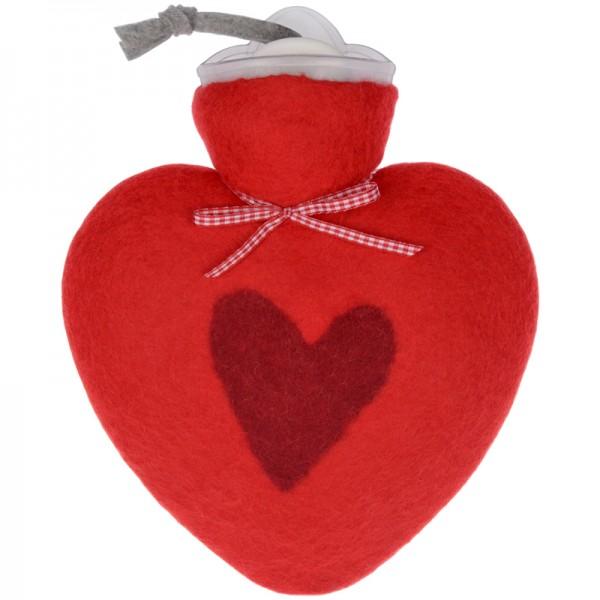 Wärmflasche Herz rot Dorothee Lehnen