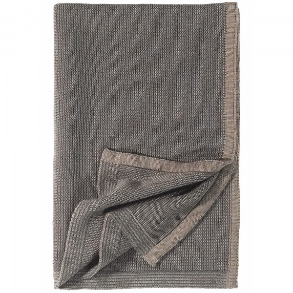 Strickdecke Chicago taupe/anthrazit eagle products