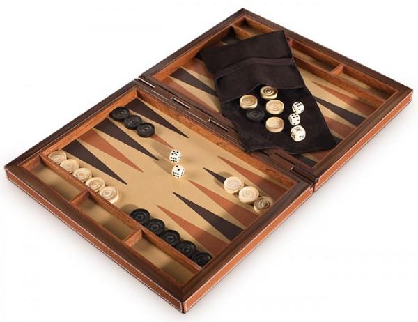 Handgefertigtes Backgammon Giobagnara