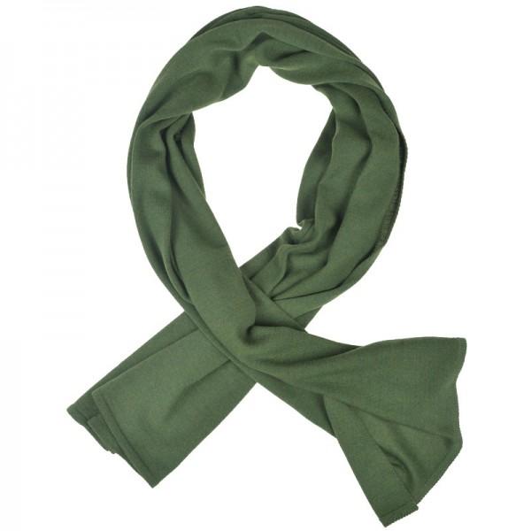 Merino Schal grün Lenz & Leif