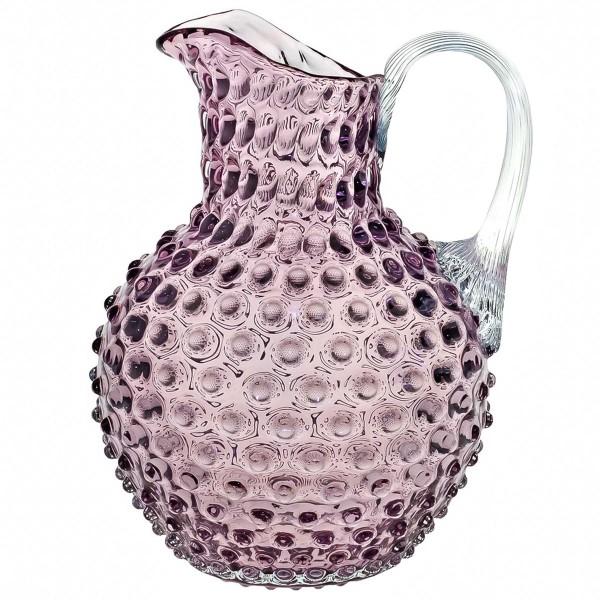 KLIMCHI Glaskrug Venezia Violett