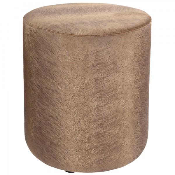 pouf camel / braun stoff de kussenfabriek