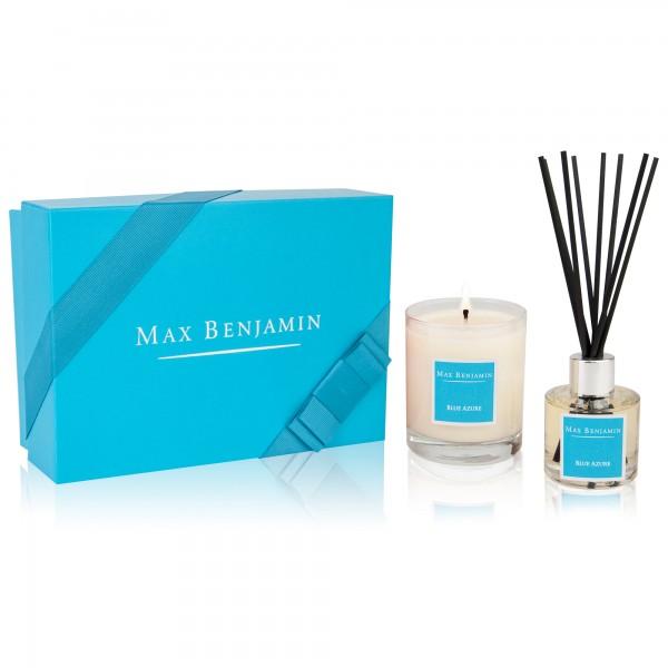 Blue Azure Geschenkbox Duftkerze & Raumduft Max Benjamin