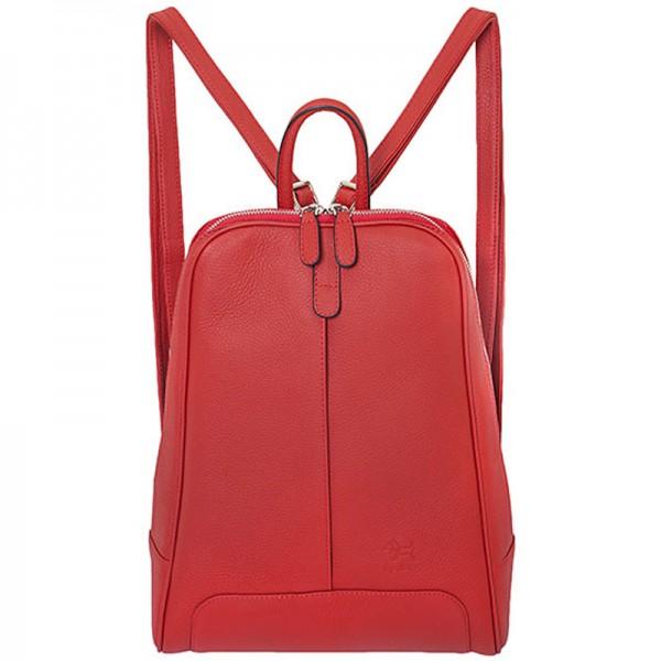 Lederrucksack Damen rot Reddog Design