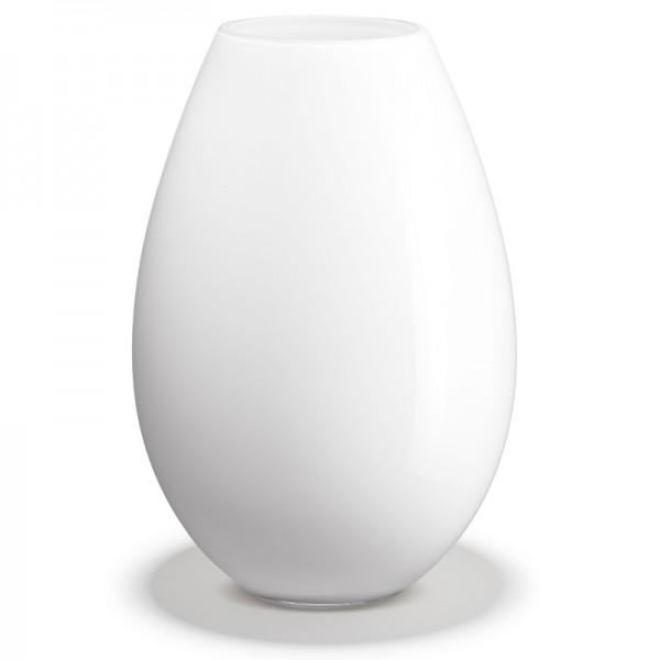 Cocoon Vase weiß Holmegaard