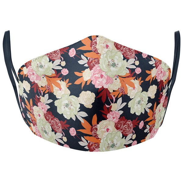 Stoffmaske FLOWERS
