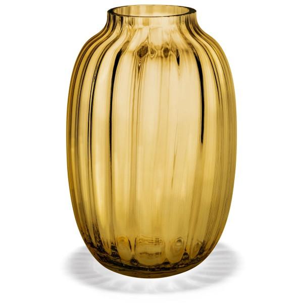 Vase Primula amber 25,5 cm holmegaard
