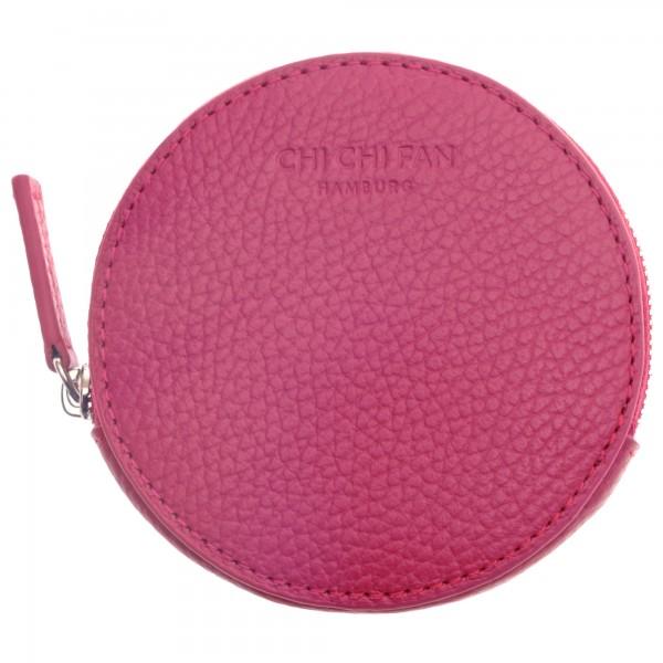 Schlüsseletui Leder pink Chi Chi Fan
