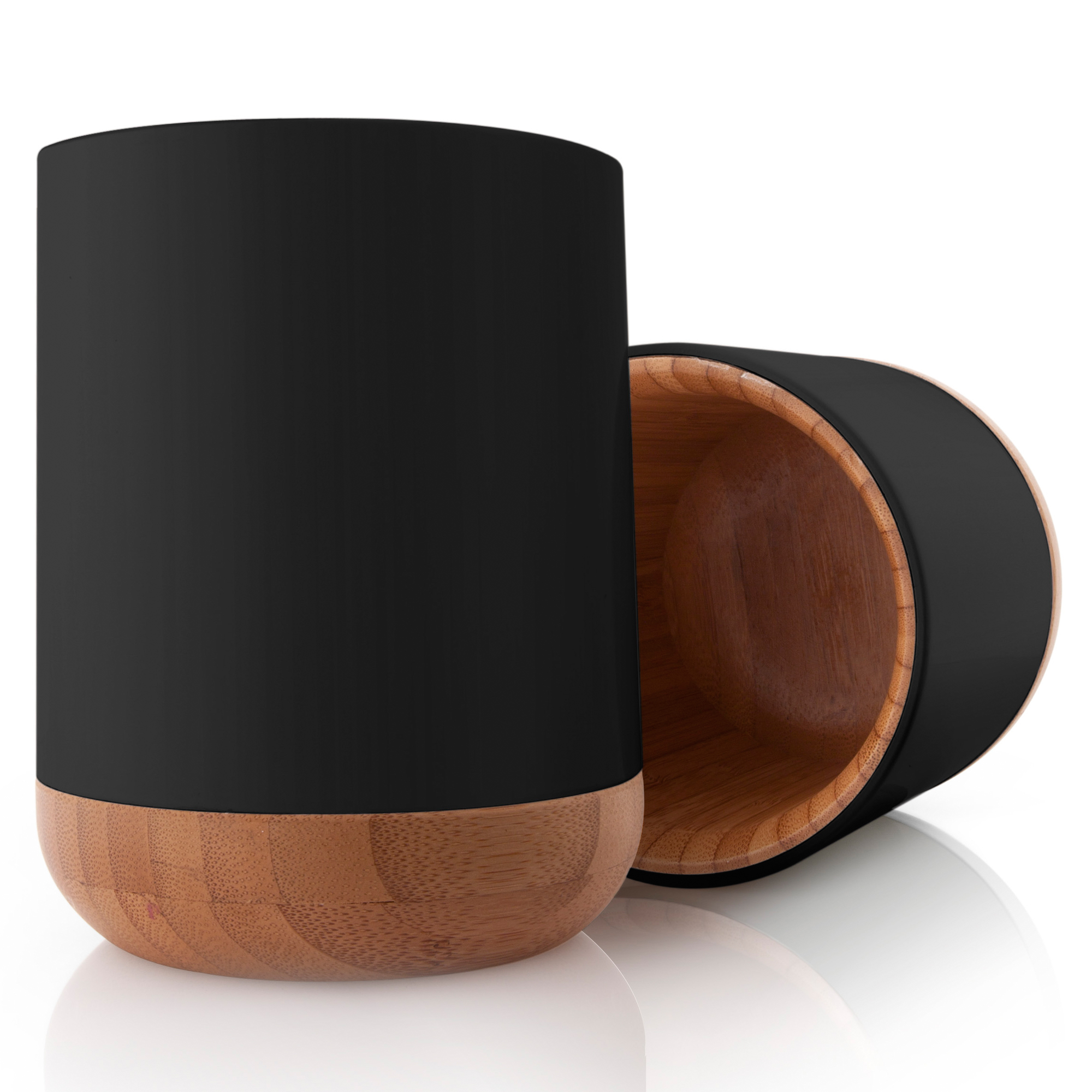 stiftebecher holz design aus italien. Black Bedroom Furniture Sets. Home Design Ideas