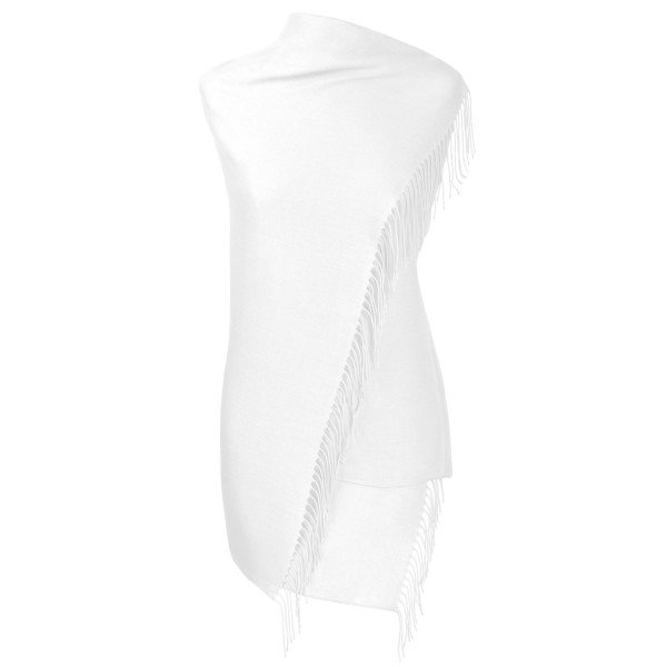 Pashmina Schal weiss Fiolini