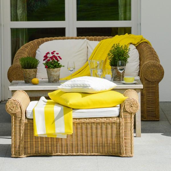 merino decke stripes gelb merino decken decken wohnaccessoires. Black Bedroom Furniture Sets. Home Design Ideas