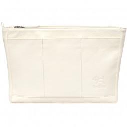 Handtaschen Organizer Leder cream
